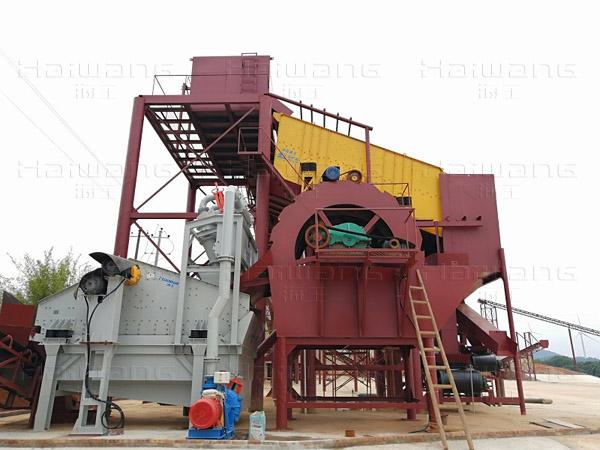 湖南道县细砂回收项目